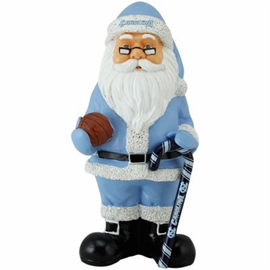 North Carolina 11 Inch Resin Team Santa Figurine