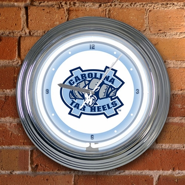 North Carolina 15 Inch Neon Clock