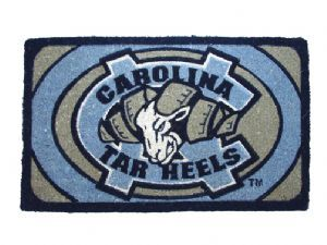 North Carolina 18x30 Bleached Welcome Mat