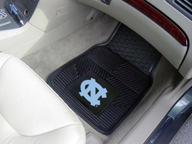North Carolina 2 Piece Heavy Duty Vinyl Car Mats