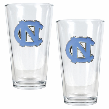 North Carolina 2 Piece Pint Glass Set