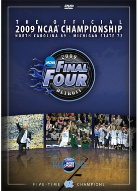 North Carolina 2009 NCAA Champs March Madness DVD