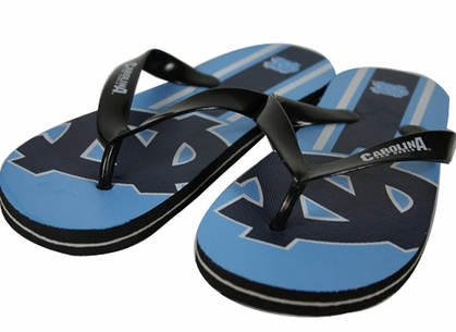 North Carolina 2012 Unisex Big Logo Flip Flops