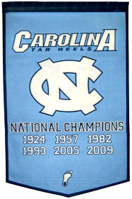 "North Carolina 24""x36"" Dynasty Wool Banner"
