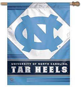"North Carolina Tar Heels 27""x37"" Banner"