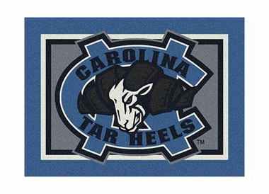 "North Carolina 3'10"" x 5'4"" Premium Spirit Rug"