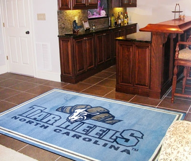 North Carolina 5 Foot x 8 Foot Rug