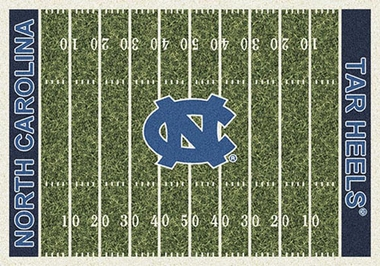 "North Carolina 7'8"" x 10'9"" Premium Field Rug"
