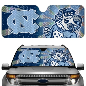 North Carolina Tar Heels Auto Sun Shade