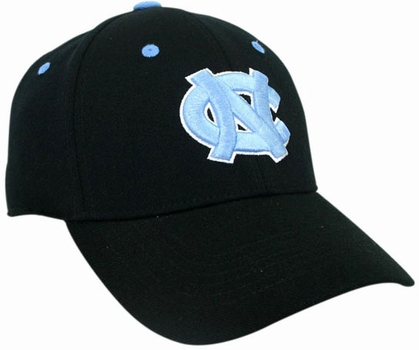 North Carolina Black Premium FlexFit Baseball Hat