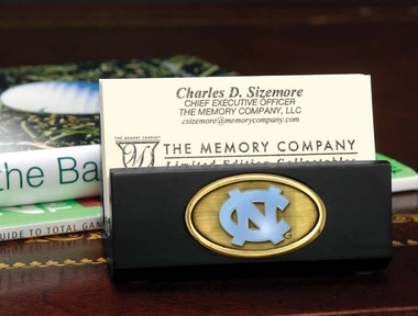 North Carolina Business Card Holder (Black)