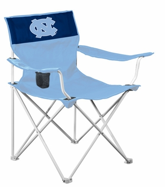 North Carolina Canvas Adult Folding Logo Chair