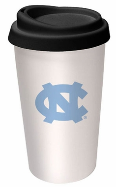 North Carolina Ceramic Travel Cup