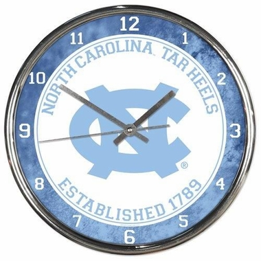 North Carolina Chrome Clock