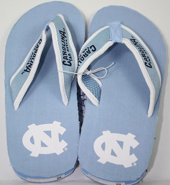 North Carolina Contoured Flip Flop Sandals