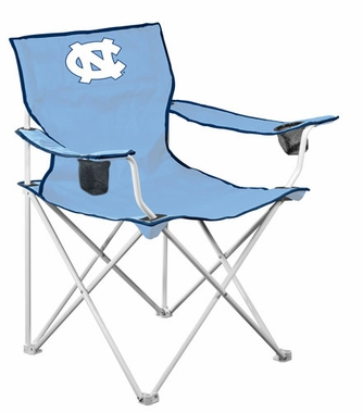 North Carolina Deluxe Adult Folding Logo Chair