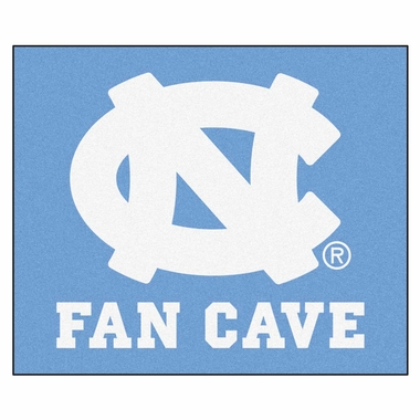 North Carolina Economy 5 Foot x 6 Foot Man Cave Mat