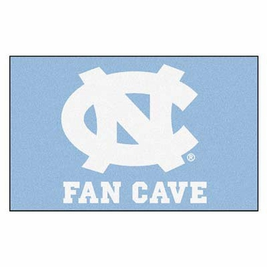 North Carolina Economy 5 Foot x 8 Foot Man Cave Mat