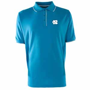 North Carolina Mens Elite Polo Shirt (Color: Aqua) - Small