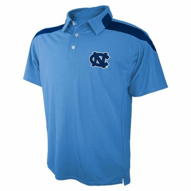 North Carolina Embroidered Logo Polyester Polo Shirt