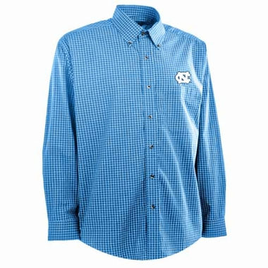 North Carolina Mens Esteem Button Down Dress Shirt (Team Color: Aqua)