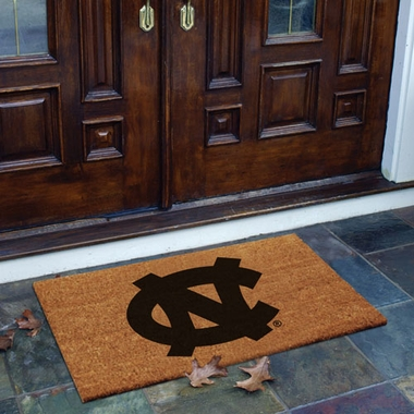 North Carolina Flocked Coir Doormat