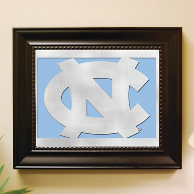 North Carolina Framed Laser Cut Metal Wall Art