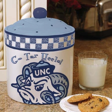 North Carolina Gameday Ceramic Cookie Jar