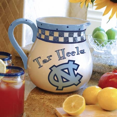 North Carolina Gameday Ceramic Pitcher
