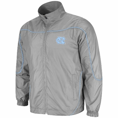 North Carolina Gunner Charcoal Full Zip Training Jacket