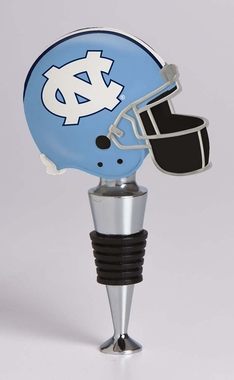 North Carolina Helmet Wine Stopper