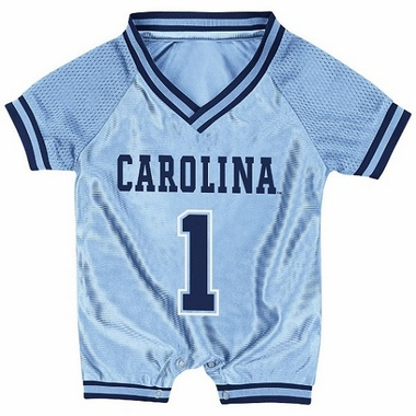 North Carolina Infant Pounce Football Jersey Onesie