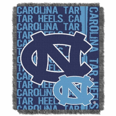 North Carolina Jacquard Woven Throw Blanket