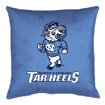 North Carolina Jersey Material Toss Pillow