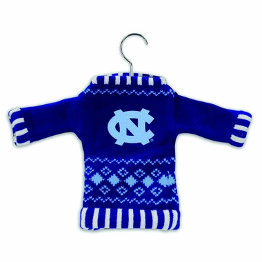 North Carolina Knit Sweater Ornament (Set of 3)