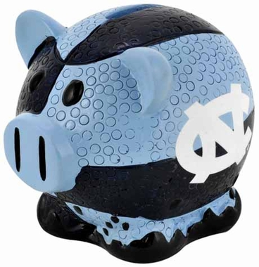 North Carolina Tar Heels Piggy Bank - Thematic Large