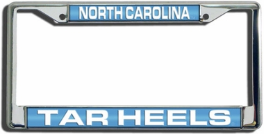 North Carolina Laser Etched Chrome License Plate Frame