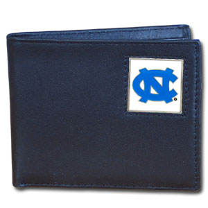 North Carolina Leather Bifold Wallet (F)