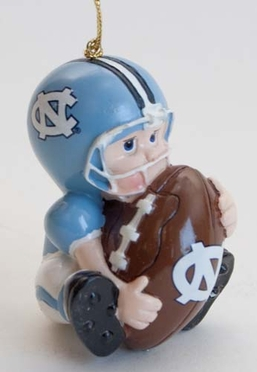 North Carolina Lil Fan Ornaments (Set of 3)