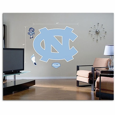 North Carolina Logo Fathead Wall Graphic