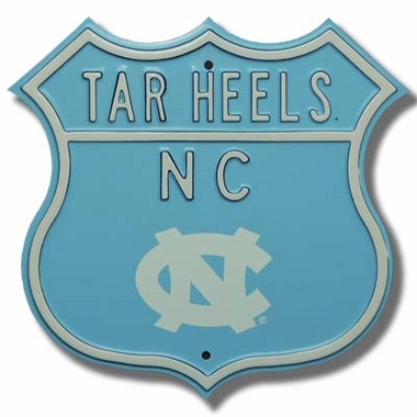 North Carolina Logo Route Sign