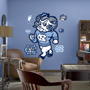 North Carolina Mascot Fathead Wall Graphic