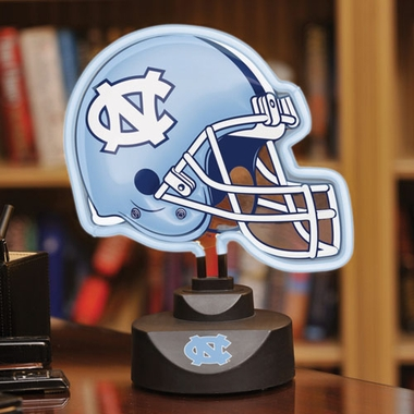 North Carolina Neon Display Helmet