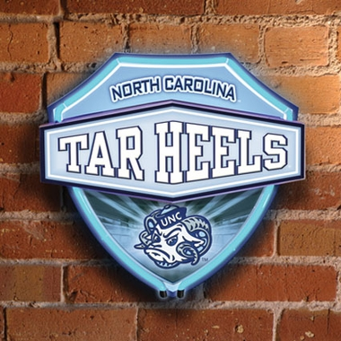 North Carolina Neon Shield Wall Lamp