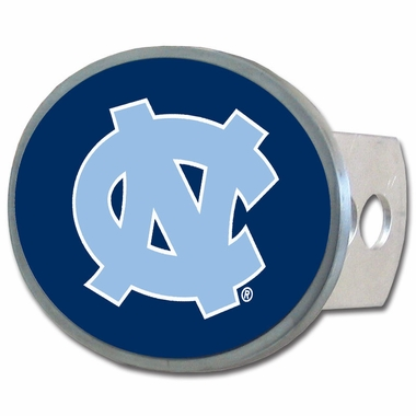 North Carolina Oval Metal Hitch Cover
