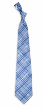 North Carolina Oxford Stripe Woven Silk Necktie