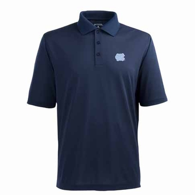 North Carolina Mens Pique Xtra Lite Polo Shirt (Alternate Color: Navy)