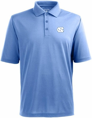 North Carolina Mens Pique Xtra Lite Polo Shirt (Team Color: Aqua)