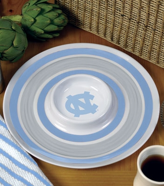 North Carolina Plastic Chip and Dip Plate