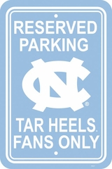 North Carolina Plastic Parking Sign (P)